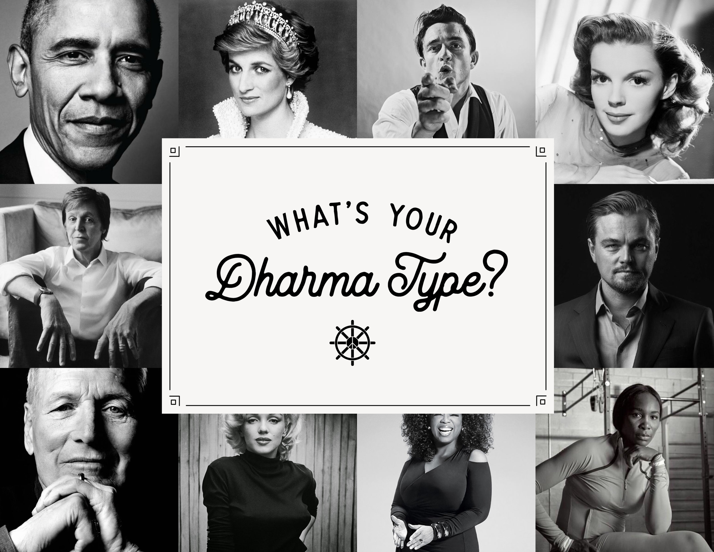 "Curious about Dharma? - Simon Chokisky pin-pointed five ""Dharma Types"" in his book The 5 Dharma Types. Basically, he created categories in which human-beings serve others and what they're predisposed to enjoy because of this. We got a lot out of this and we think you will too. Also, who doesn't love a fun personality quiz?!"
