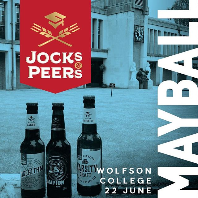 #jocksandpeers serving at the #wolfsonmayball tonight! , , , , #beer #mayball #beerbeerbeer #cambridgeuniversity #cambridgebornandbred @wolfsonmayball @wolfsoncollegecam