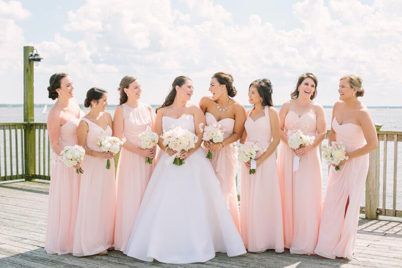 Cottages on Charleston Harbor Wedding