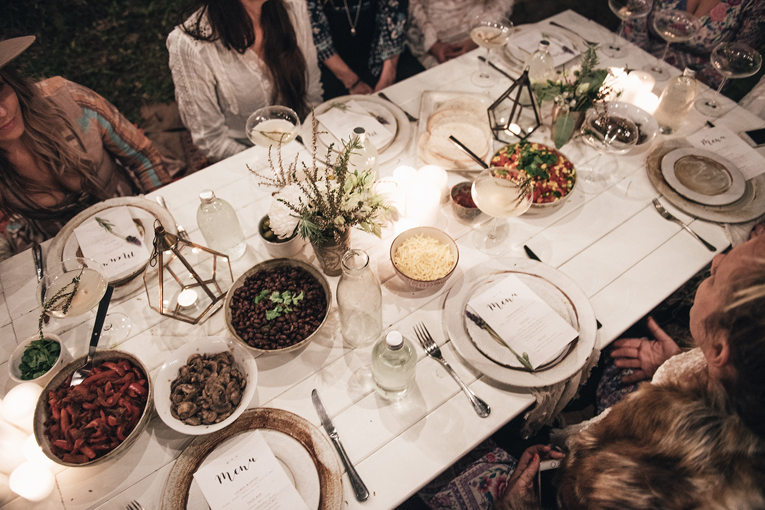 Image Credit:  Spell Designs  (Bohemian Dinner Party)
