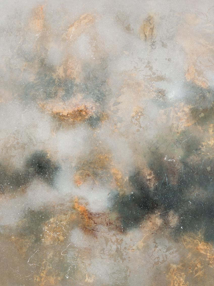 3.Liminal Phenomena I, oil on canvas, 160 x 120cm