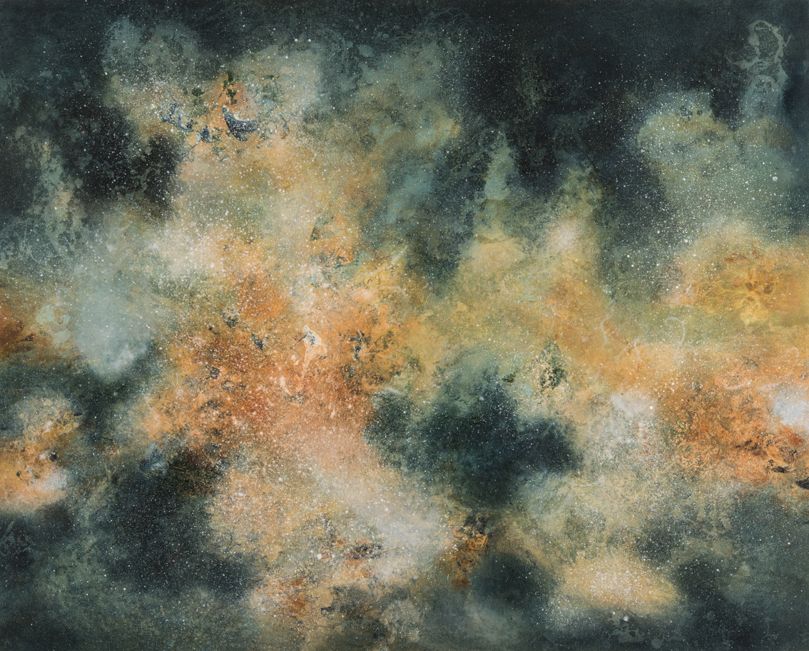 Luminous Form, oil on canvas, 130 x 160cm