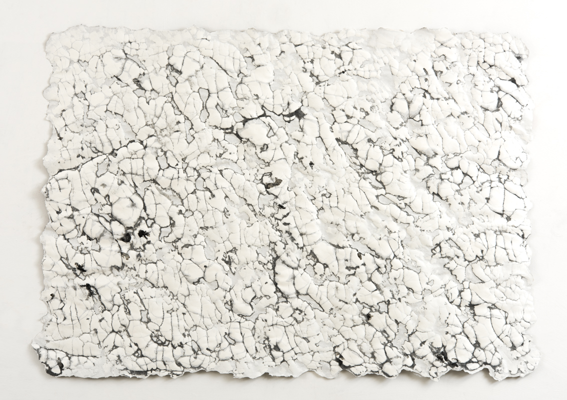 Ice Fracture, mixed media on paper, 74 x 104cm