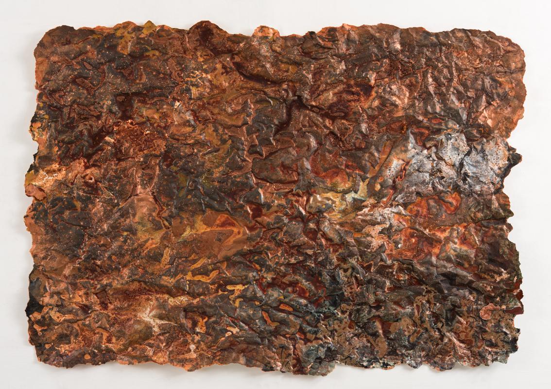 Heavy Metals, mixed media on paper, 74 x 104cm
