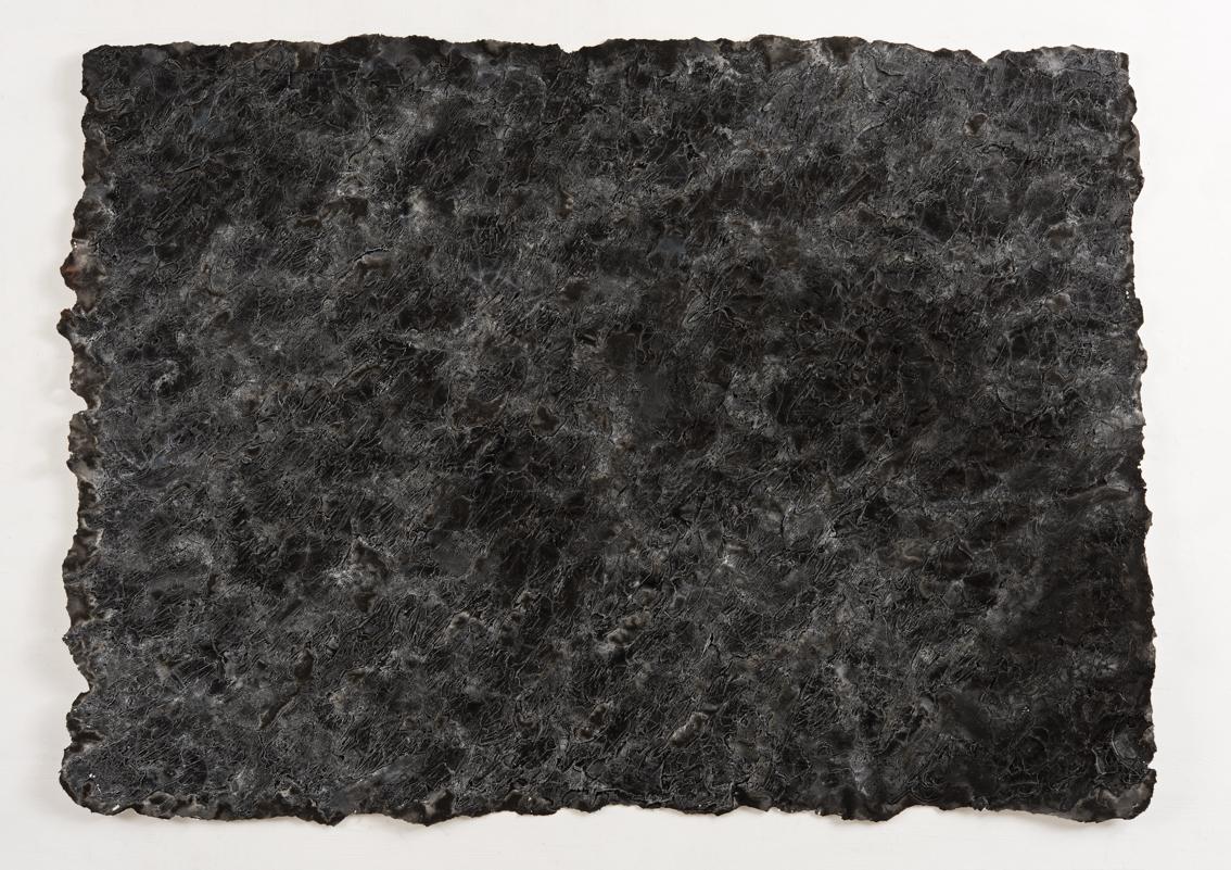 Dark Side, mixed media on paper, 74 x 104cm