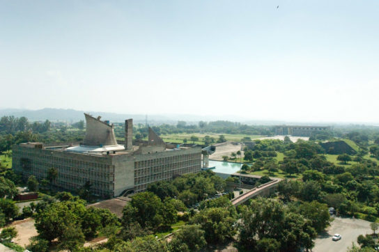 archaic_Chandigarh Assembly | Le Corbusier14
