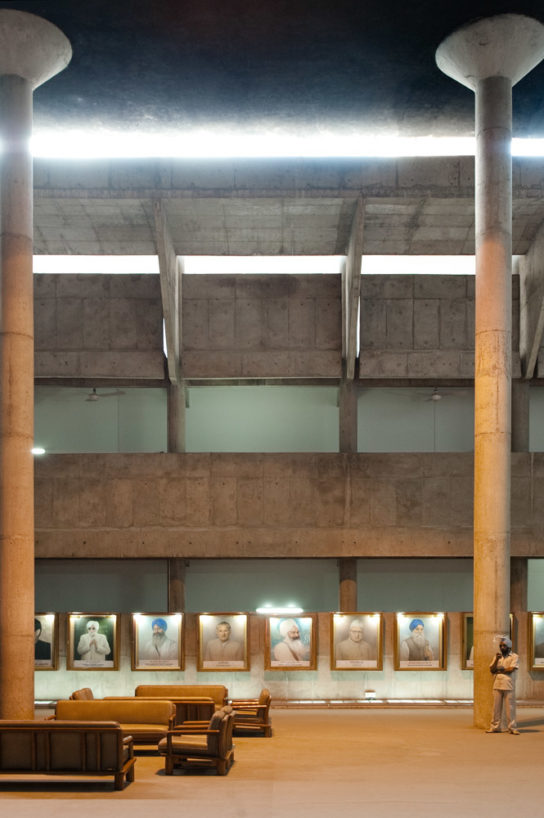 archaic_Chandigarh Assembly | Le Corbusier18