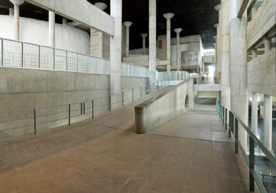 archaic_Chandigarh Assembly | Le Corbusier2