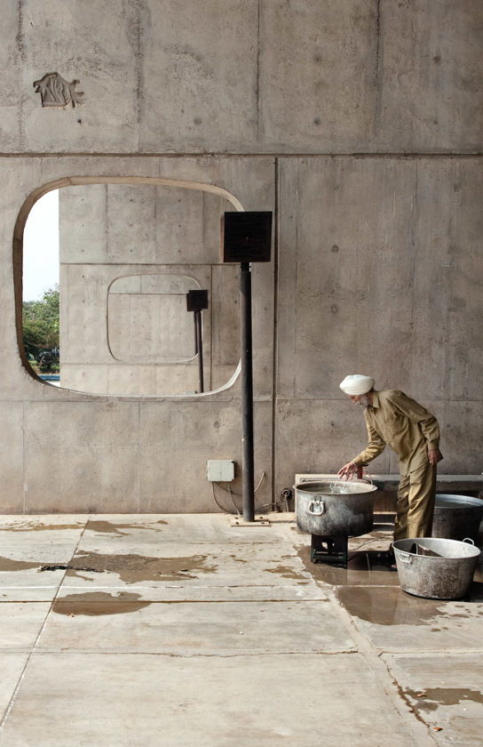archaic_Chandigarh Assembly | Le Corbusier8