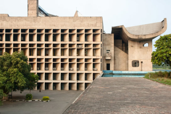 archaic_Chandigarh Assembly | Le Corbusier9