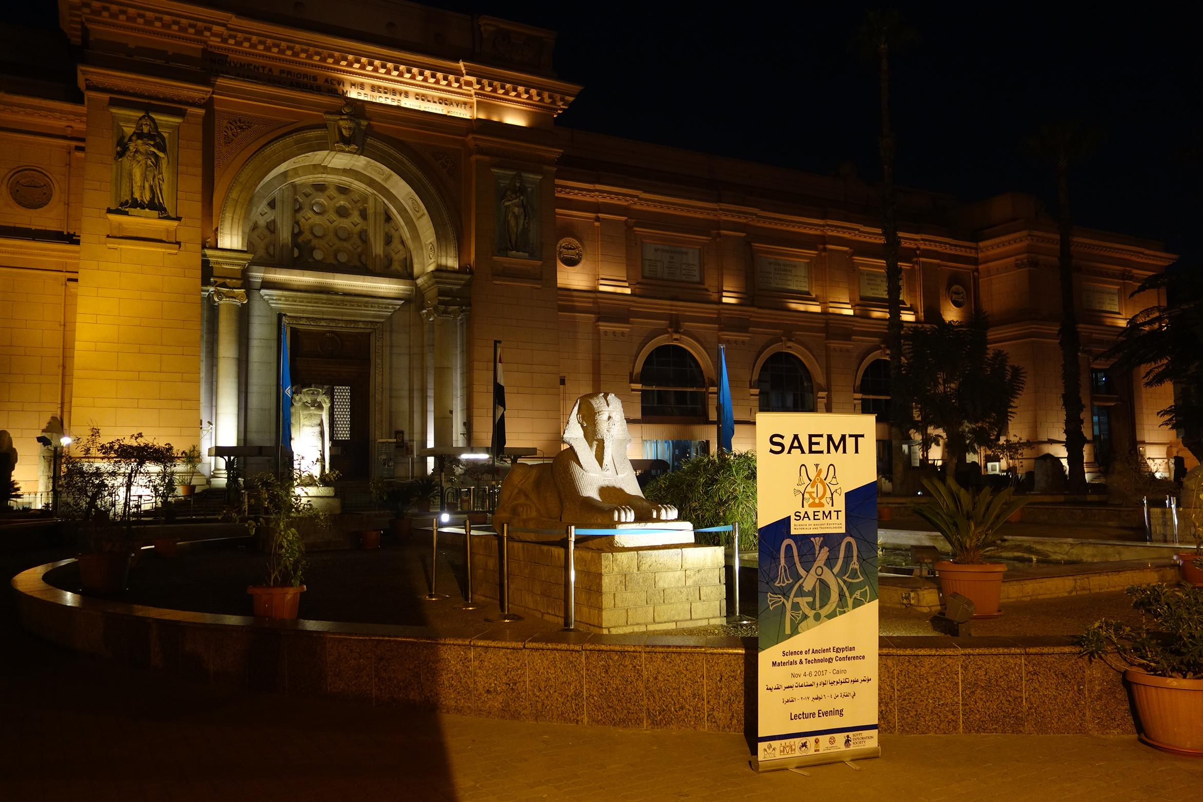 The SAEMT at the Egyptian Museum (photo: Giulio Lucarini)