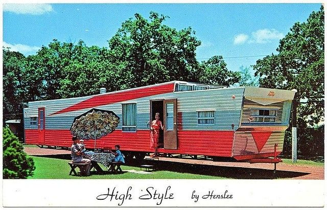 Post card from another era of mobile home marketing.