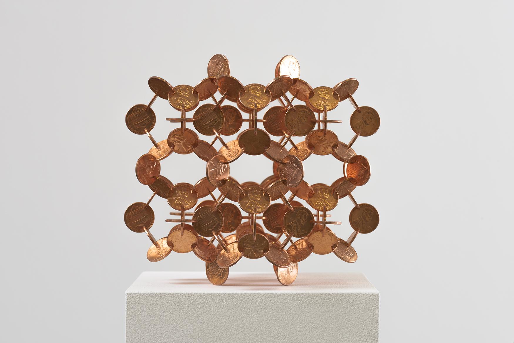 Penny Molecule (Shiny), 2016 - View 1