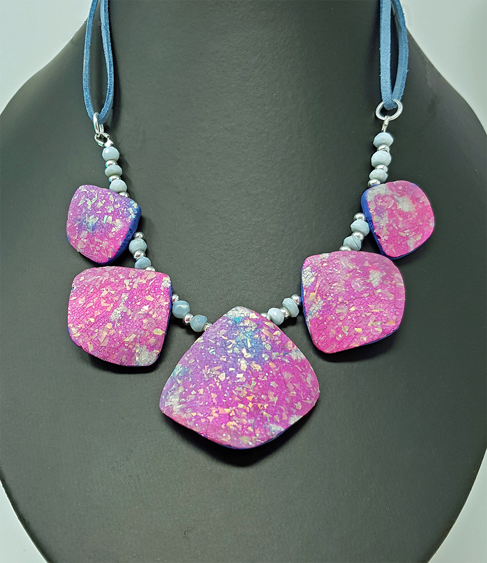 Shirley's Shimmer & Sparkle necklace