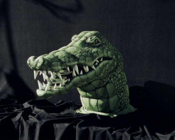 Boston Ballet-Firebird-Crocodile Mask