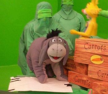 "Book of Pooh-Puppeteering ""Eeyore"""