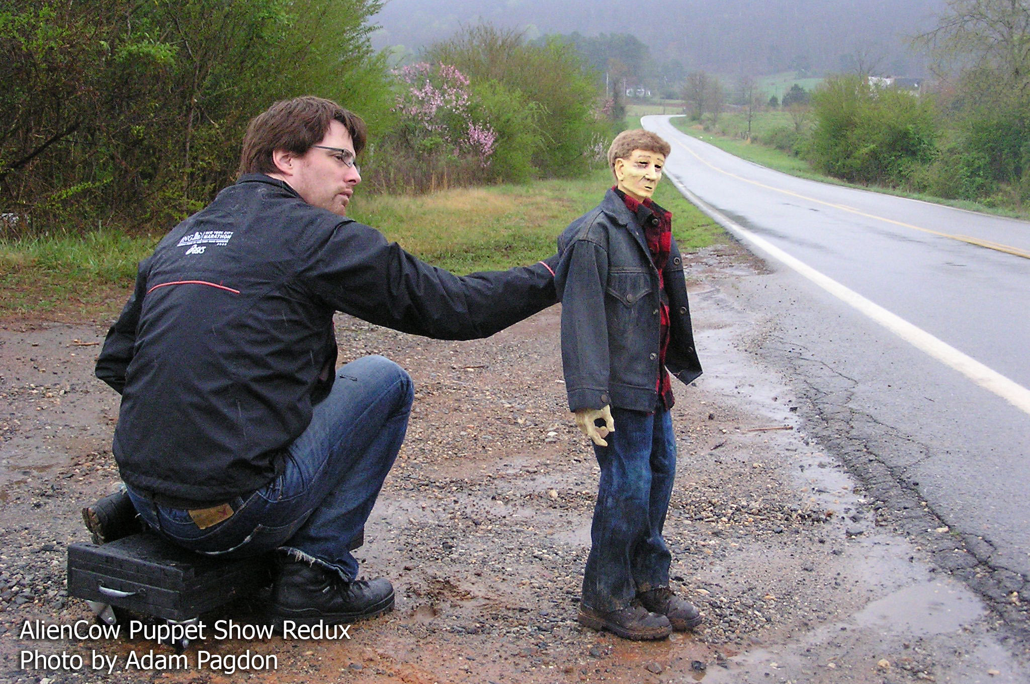AlienCow puppet show-farmer by the road.jpg