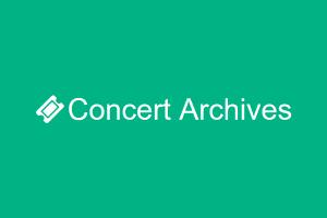 Concert Archives