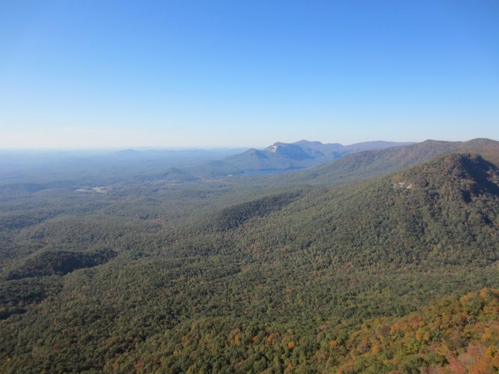 View from Caesars Head, South Carolina