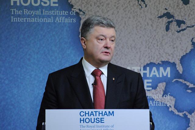 Petro Poroshenko, President, Ukraine.The Battle for Ukraine: Leadership and Solidarity, 19 April 2017