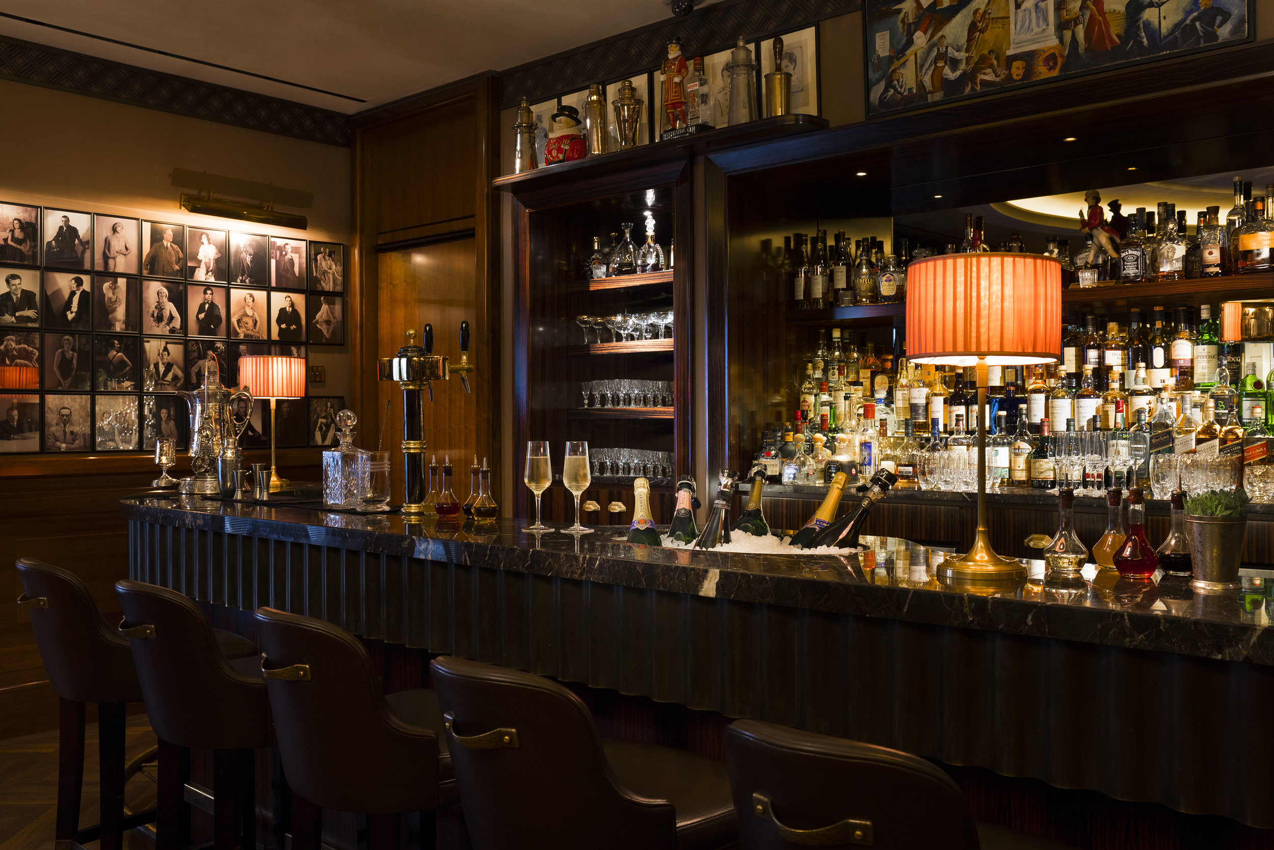 The American Bar at The Beaumont Hotel