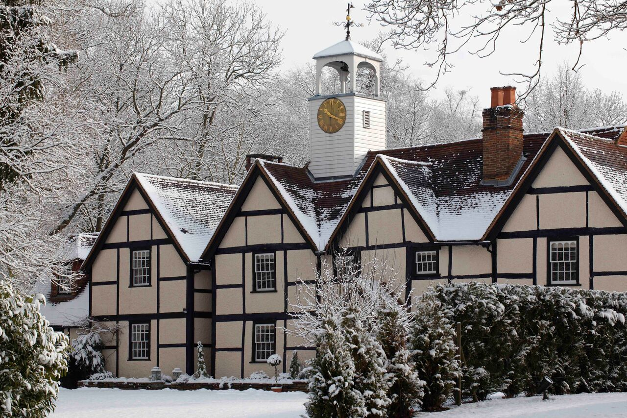 The Dower House snow shot