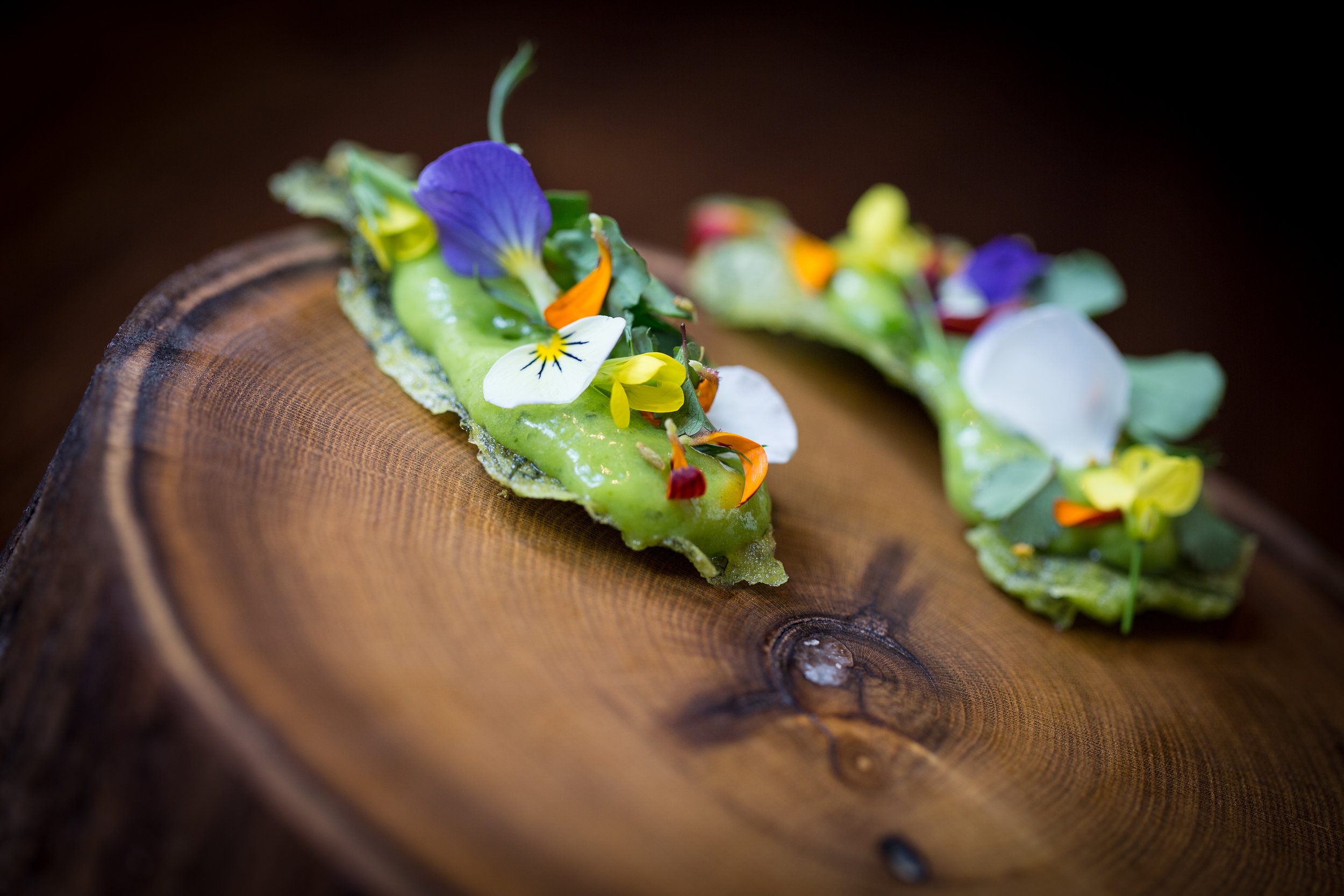 Pea flour wafers-herbs and flowers 1.jpg