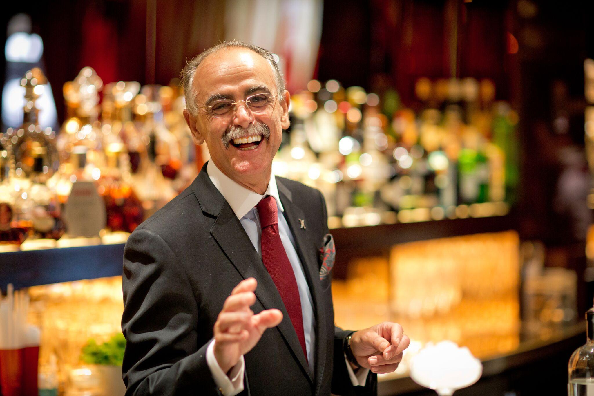 The Dorchester Bar Manager, Giuliano Morandin
