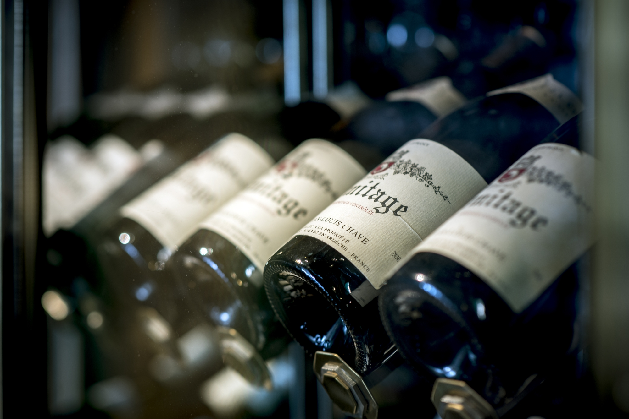 The new menu will feature a vastly extended wine list, offering precisely 525 varieties of both New and Old World wines, available in its entirety by the glass