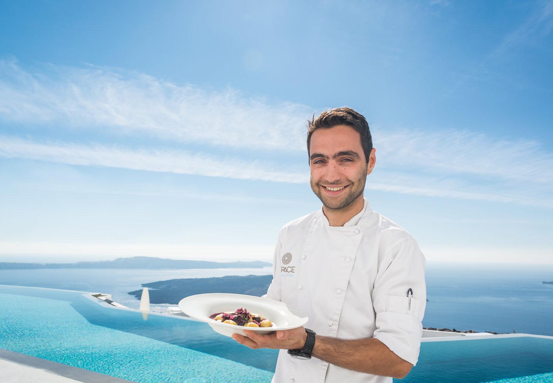 Grace Santorini - Executive Chef Spyros Agious