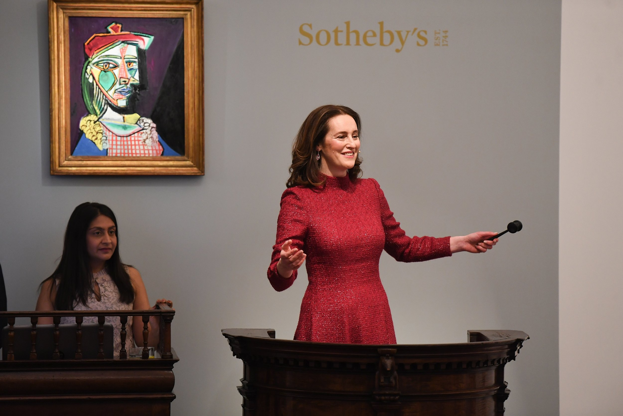 Helena Newman, Global Co-Head of Sotheby's Impressionist & Modern Art Department & Chairman of Sotheby's Europe