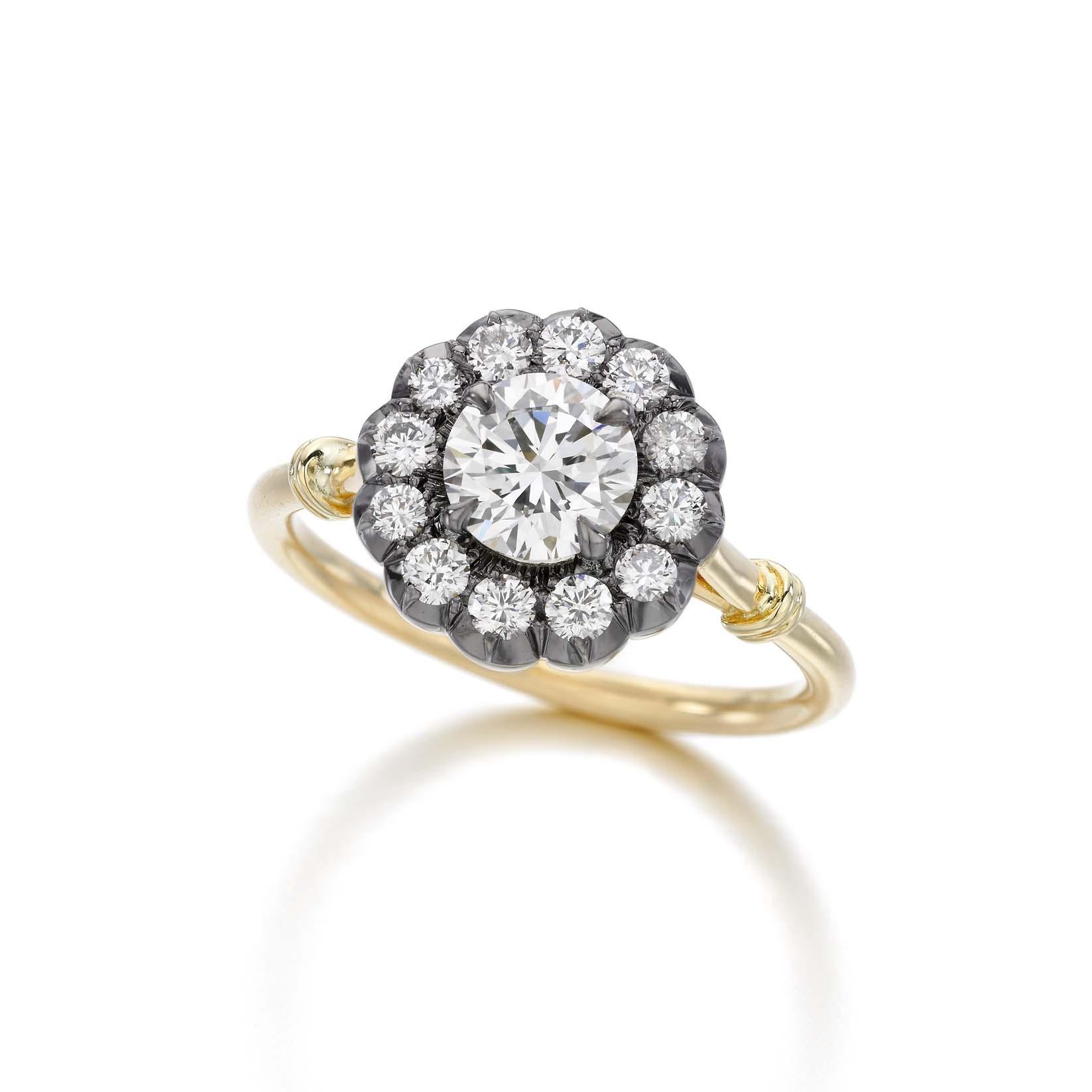 Daisy Halo Ring