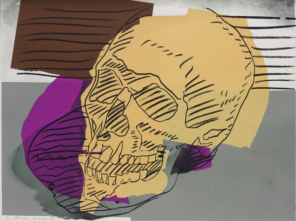 Andy Warhol | From 'Skulls' series | 1976 | Estimate: £60,000 – 80,000
