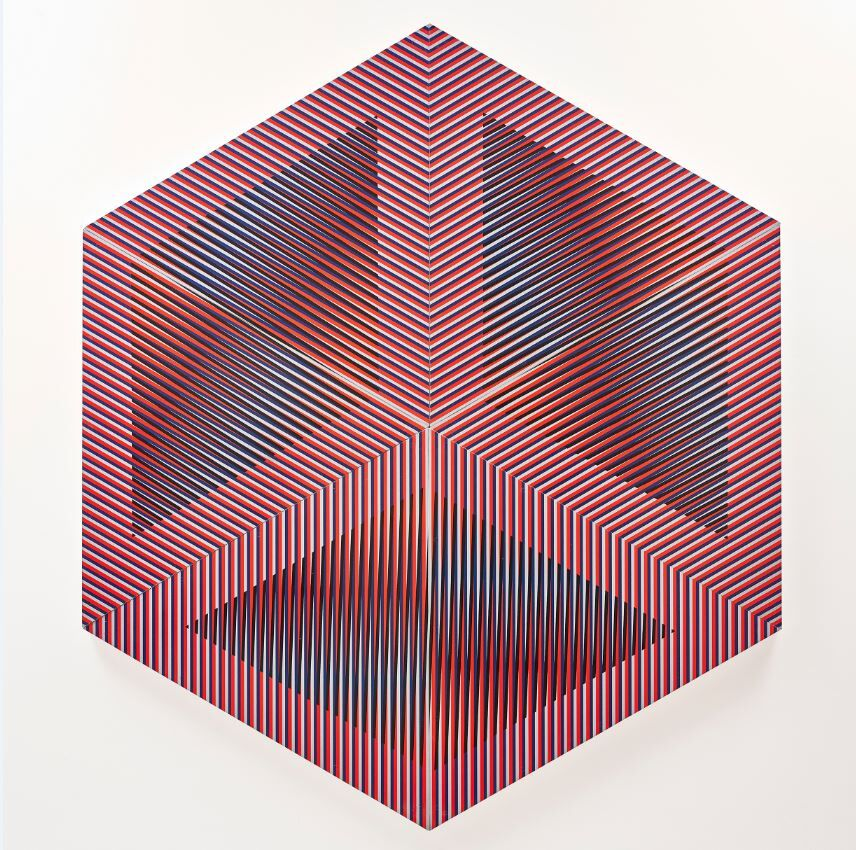 Considered one of the greatest artistic innovators of the 20th and 21st centuries, this exhibition of Cruz-Diez's work will focus on his exploration of kinetic-optic art through the use of colour, light and illusion.