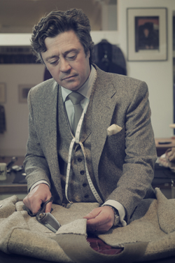 """""""Together with our team of expert tailors, we pride ourselves on the house style, the innovations we bring to The Row, our customers, and the quality of service we offer."""" - Richard Anderson"""