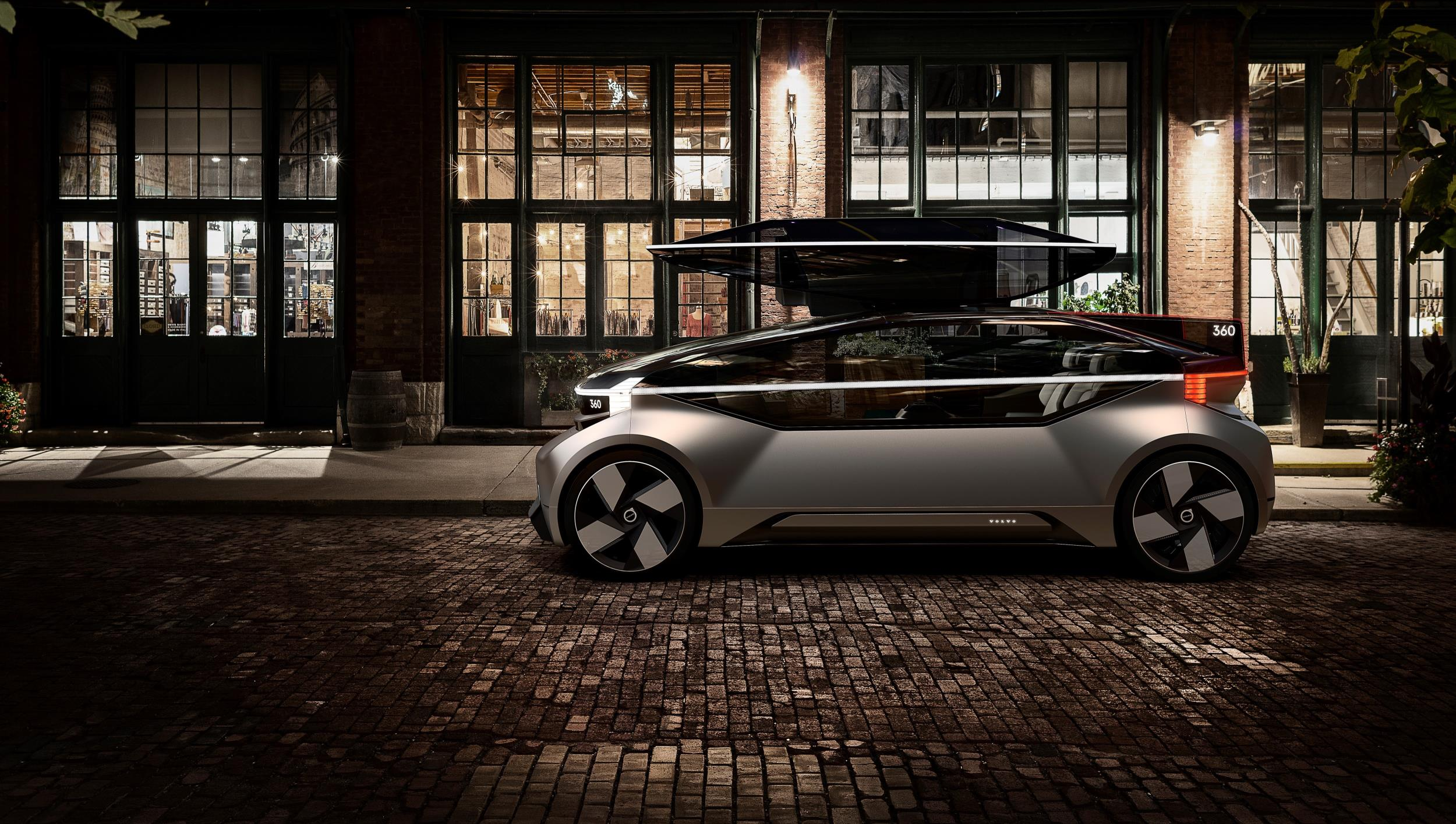Volvo Cars' new 360c autonomous concept
