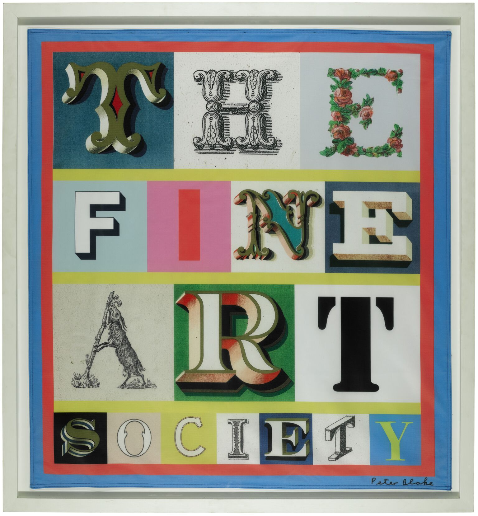 'The Fine Art Society' by Sir Peter Blake