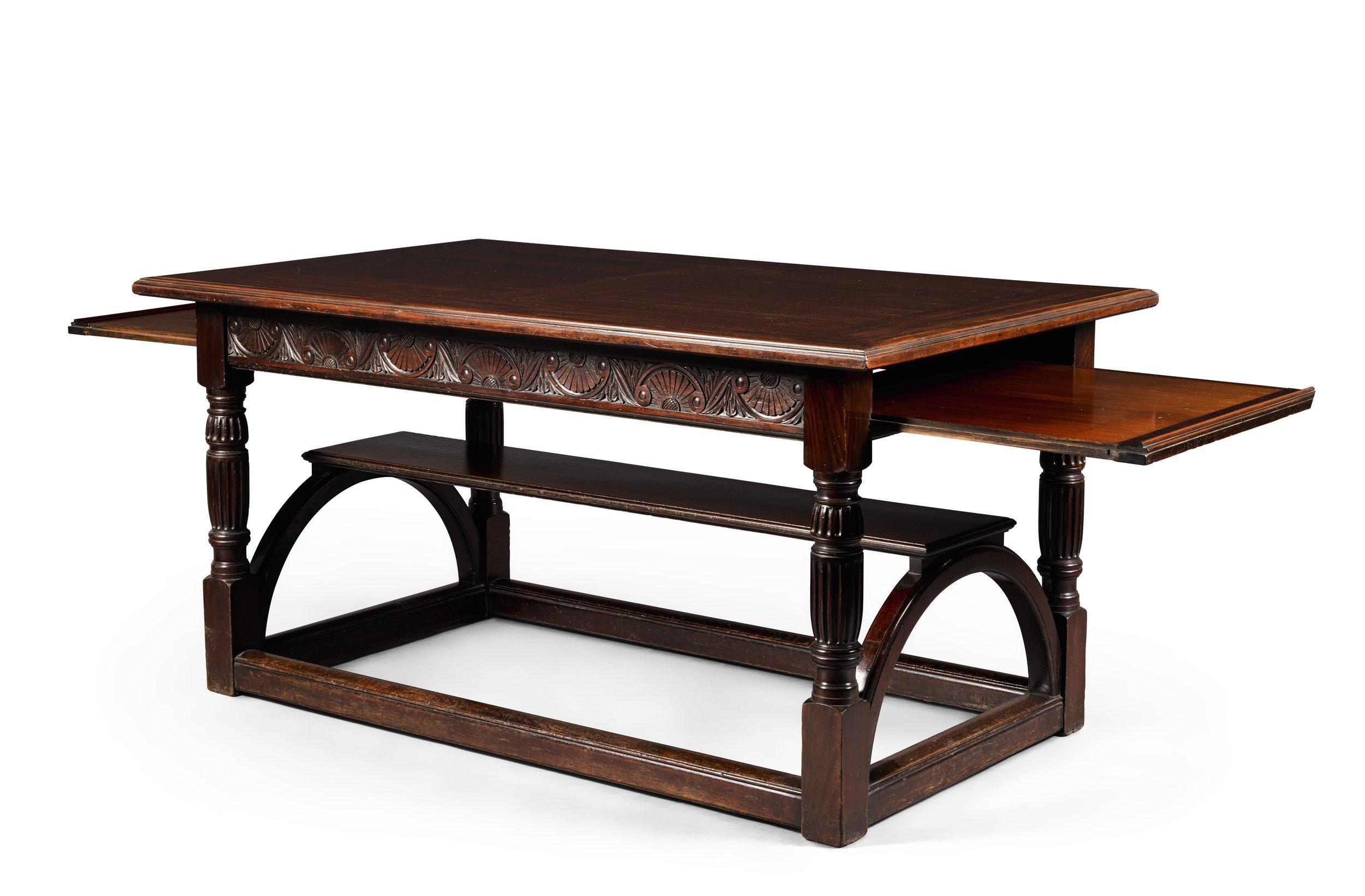 George Falkner Armitage, mahogany table with slides, £10,000 – 15,000.jpg