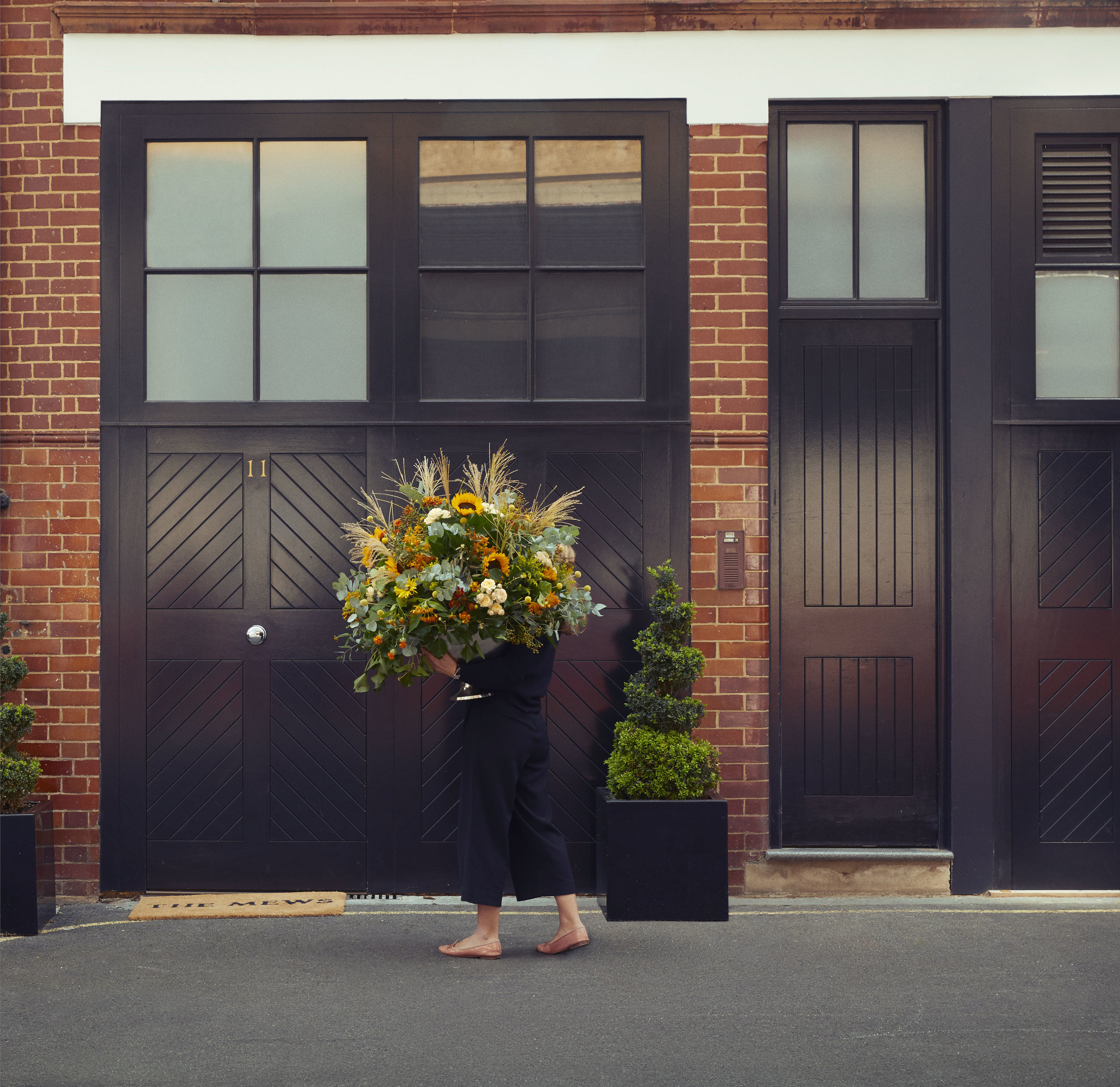 The Mews Entrance. Guests of The Mews are able to reserve the Bijoux Box free of charge for an evening, where they are invited to pick their favourite accessories to complete their look and enjoy their night out.