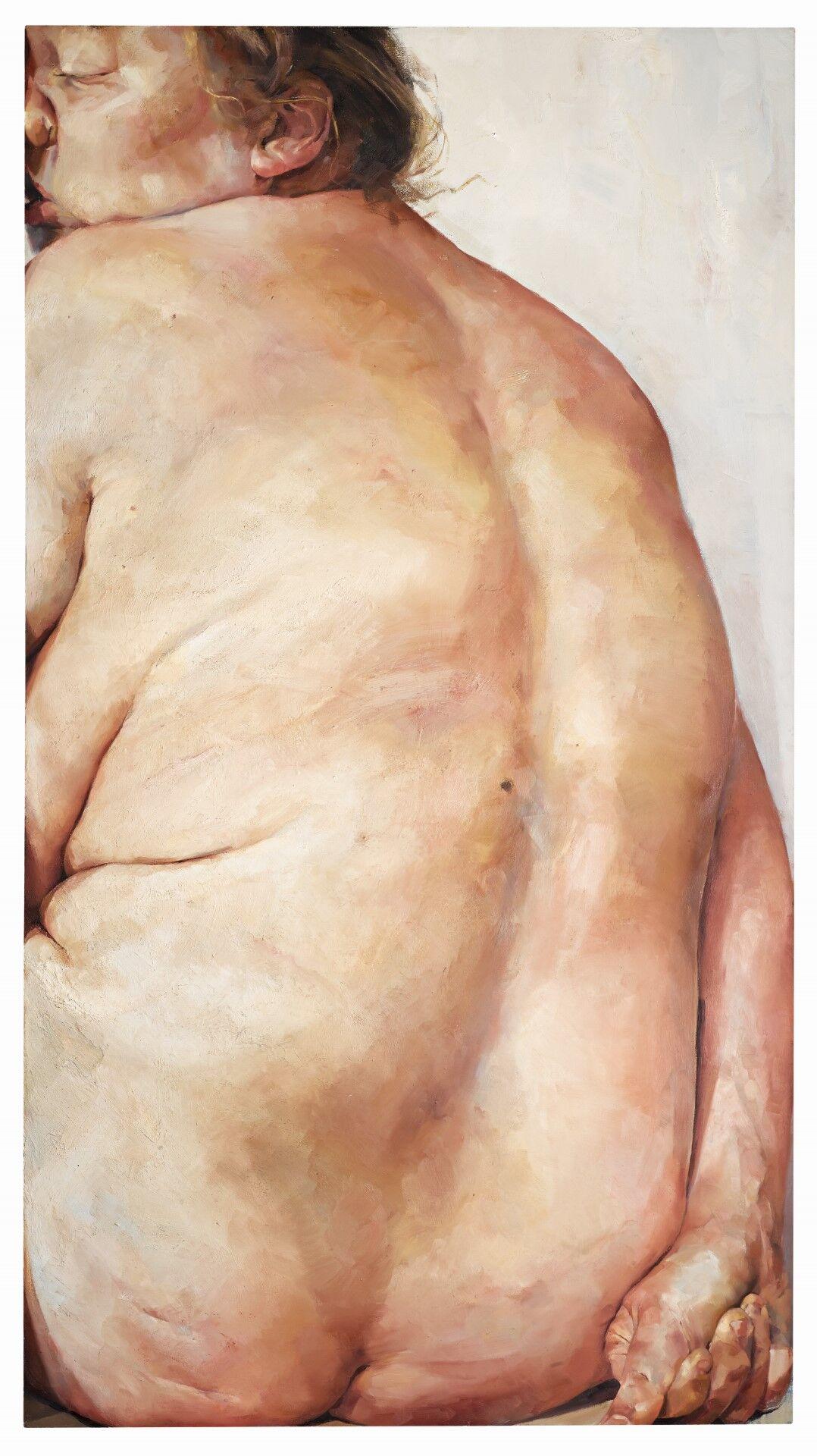 Lot 1 Jenny Saville, Untitled, 1990, est. £100,000-150,000. Cover: Lot 1 Jenny Saville, Untitled, 1990, est. £100,000-150,000.