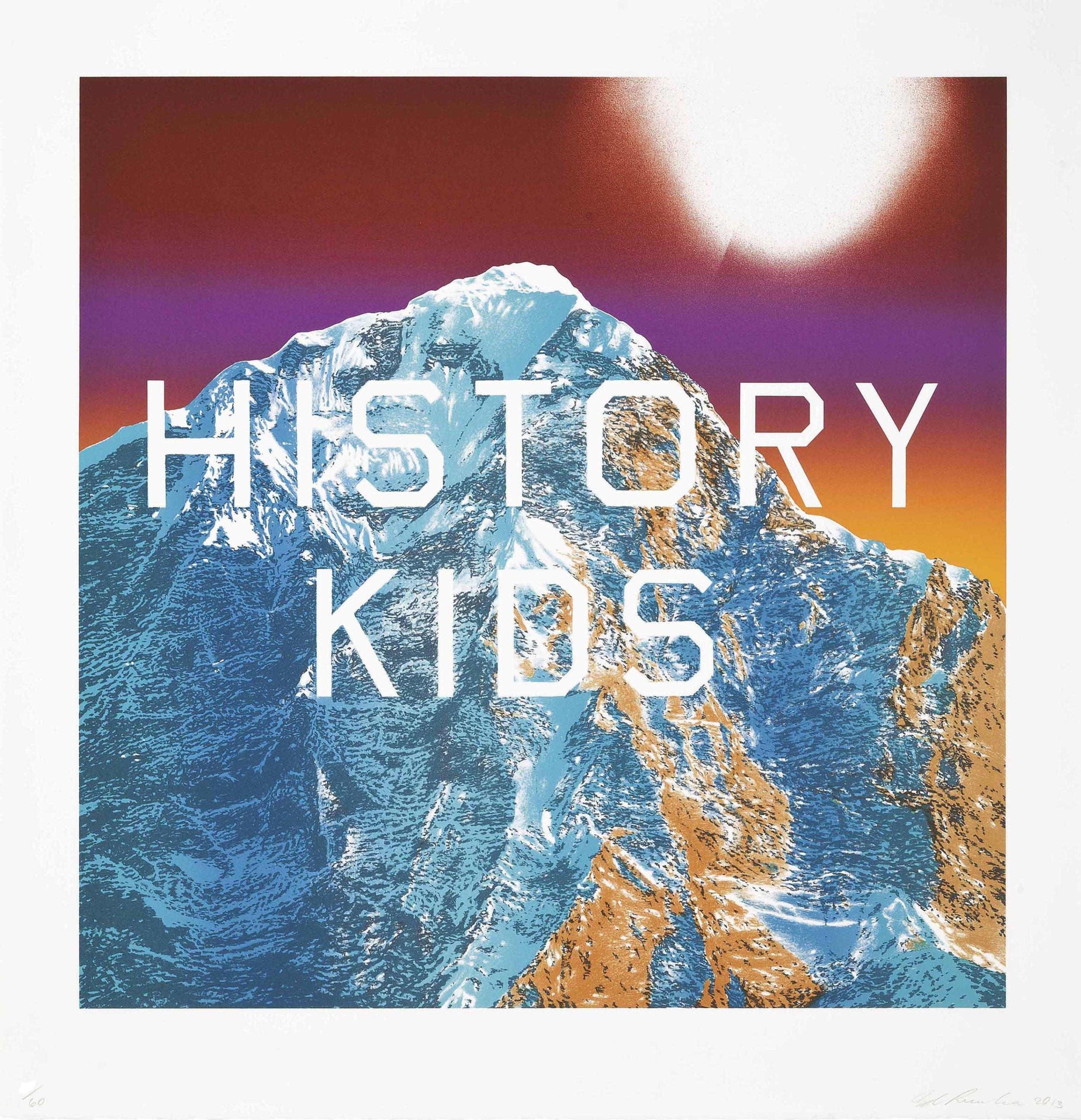 History Kids - Ed Ruscha