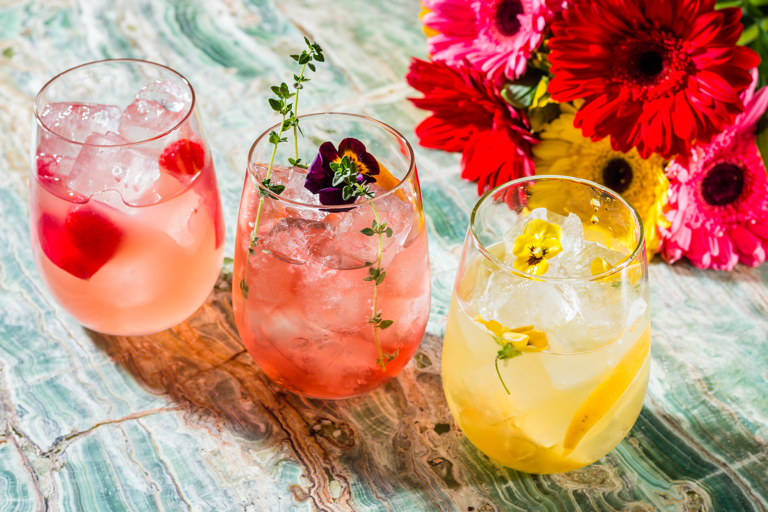 The Floral Spritz Collection at May Fair Kitchen