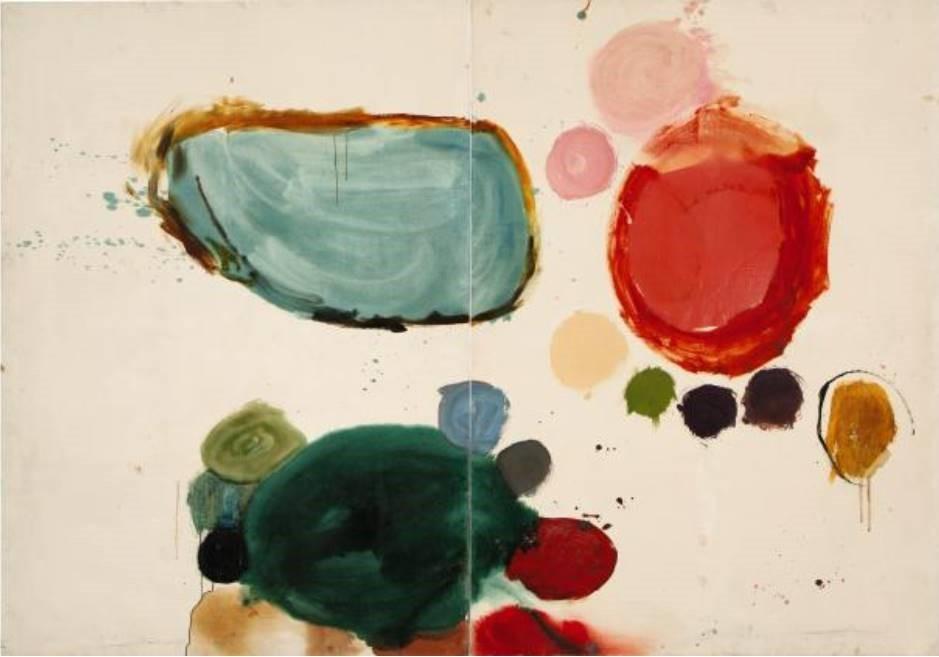 Gillian Ayres - Brood, 1962, Molton, Hamilton, Annely Juda (C) Sam Mundy