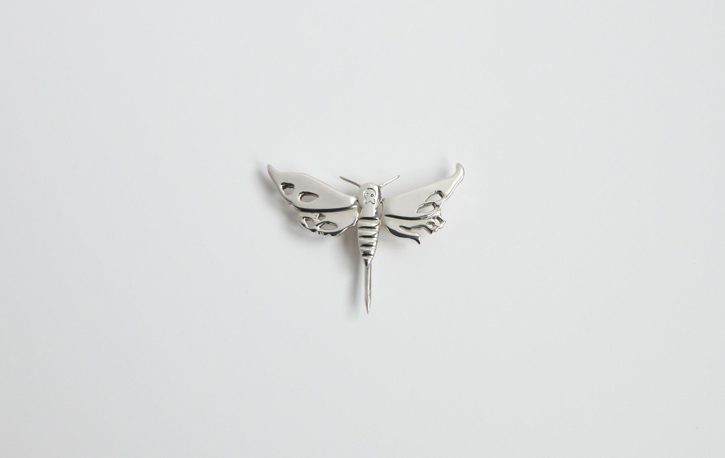 LAPADA Moth Pin