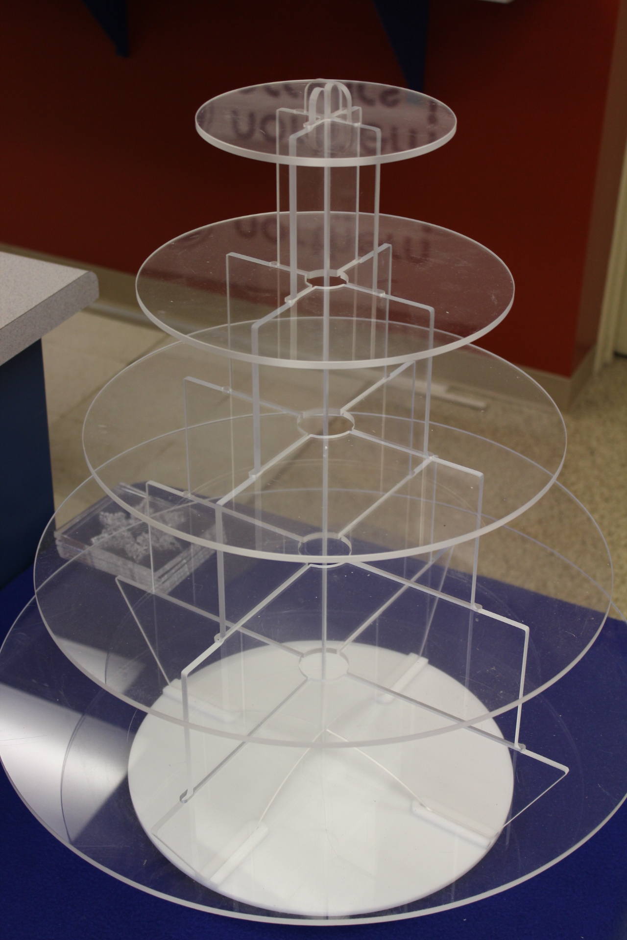 Cupcake Display  Freely Spins | Collapsible