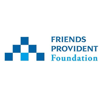 Friends Provident Foundation   Friends Provident Foundation is a grant-making charity that focuses on exploring the role of money as a force for social good.