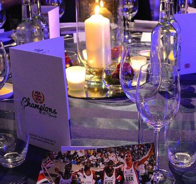 VB curated Team GB's celebratory event, held at The Dorchester, London.