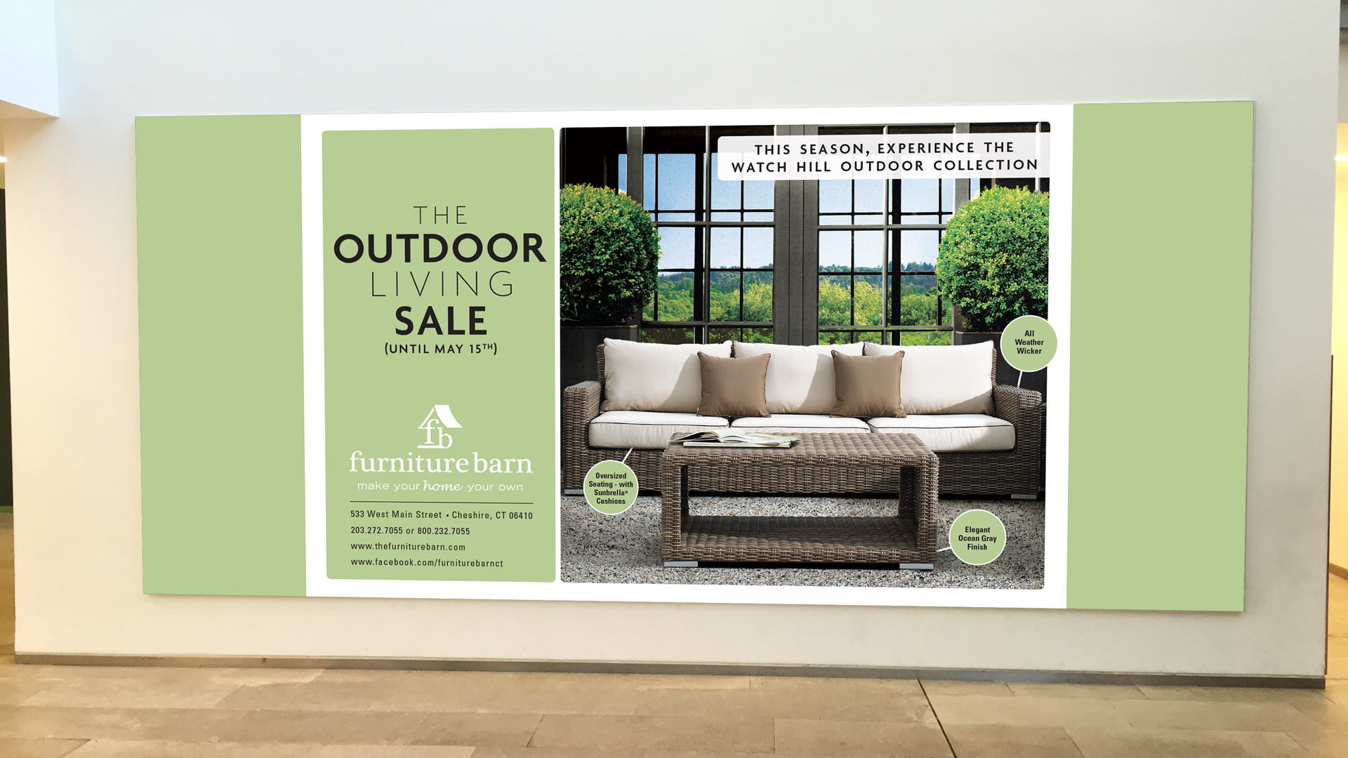 Furniture Barn: Display Advertising