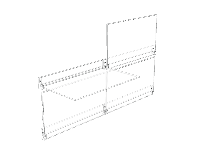 RIVELI SHELF - .DWG / .SKP / .STP