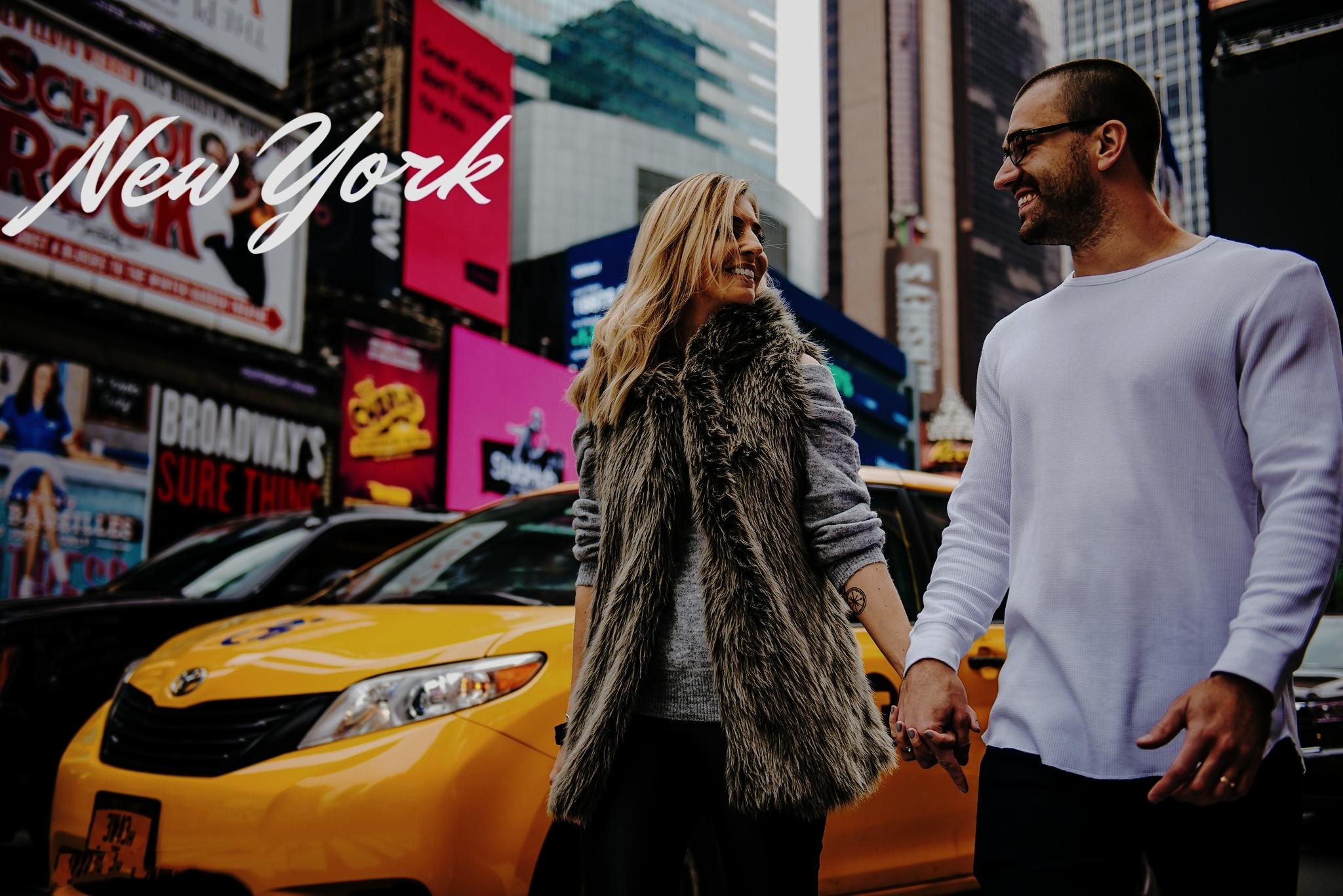 NOVA YORK  Ensaios começam em U$190